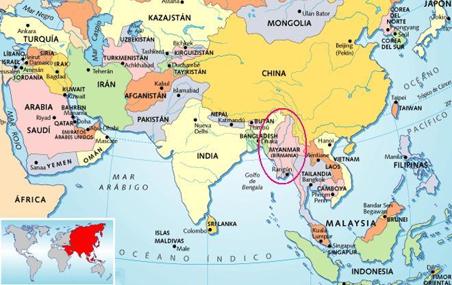 Nombres del mapa mundi - Imagui