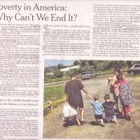Pobreza en América: ¿Porque No podemos acabarla?