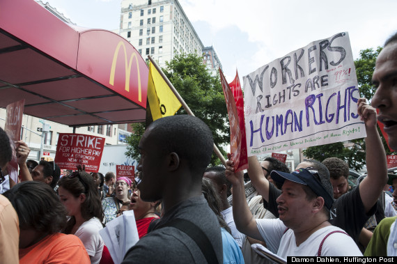 Fast Food Protest
