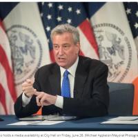Despidos de 22,000 trabajadores de New York para el 1-10-2020 para cerrar la brecha presupuestaria